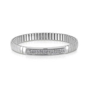 XTE steel and Swarovski bracelets (010_White)