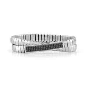 XTE Steel Bracelets and Swarovski Double (011_Black)