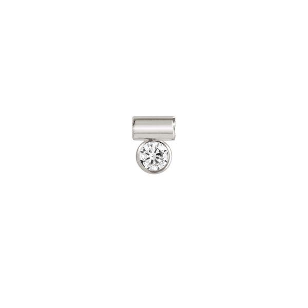 SeiMia CZ STONE in 925 silver (010_White)