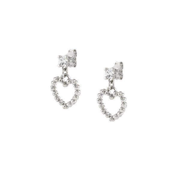 ROCK IN LOVE SILVER ed, earrings in 925 silver PENDING (010_Silver)