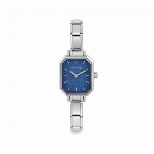 COMPOSABLE Classic Watch - with Blue Glitter Dial