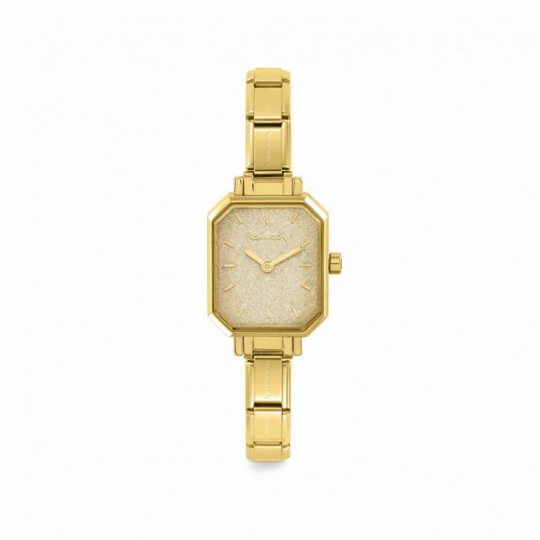 COMPOSABLE Classic Watch - with Gold Glitter Dial