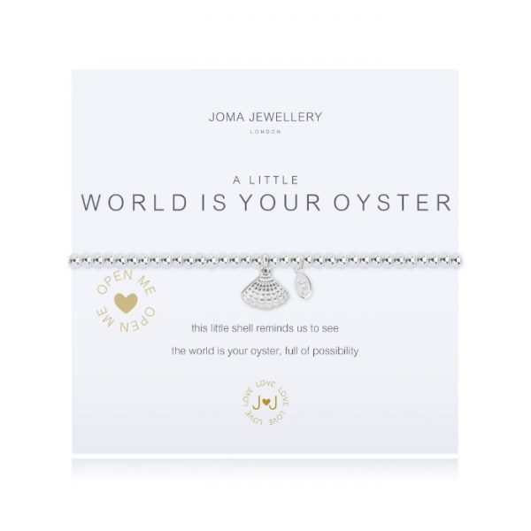 A little the world is your oyster
