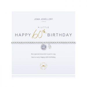 A little Happy 60th Birthday Bracelet