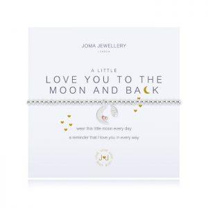A little I Love You To The Moon And Back  Bracelet