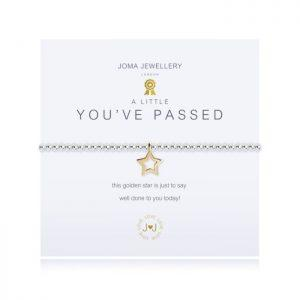 A little you've passed bracelet