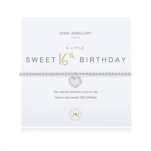 A little Sweet Happy 16th Birthday Bracelet