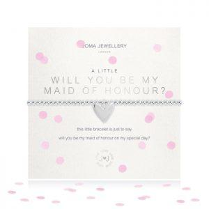 A little will you be my maid of honour Bracelet