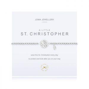 A little ST Christopher  bracelet
