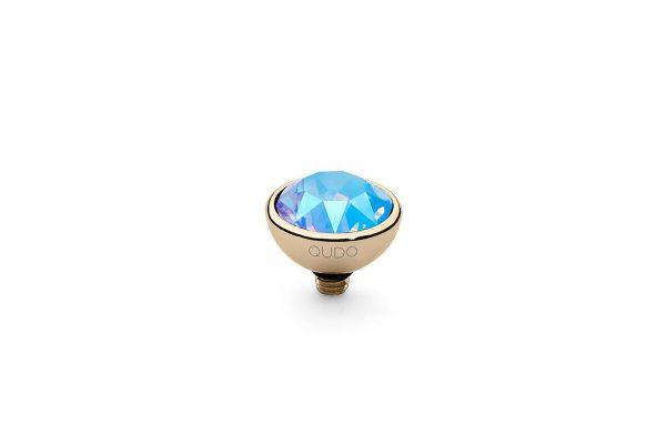 Bottone - Light Sapphire Shimmer - 10mm