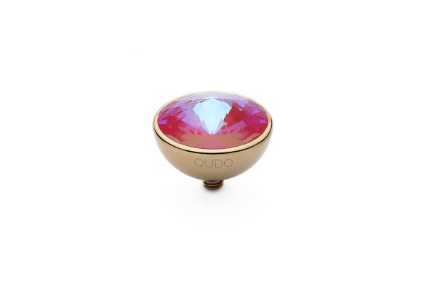 Bottone - Royal Red Delite - 13mm