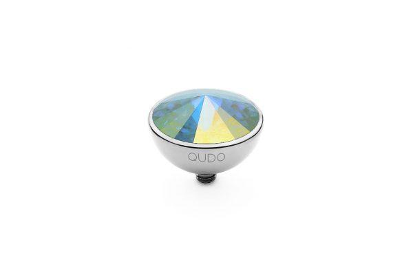 Bottone - Crystal Aurora Boreale - 13mm