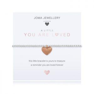 A little you are loved Bracelet (Small Wrist)