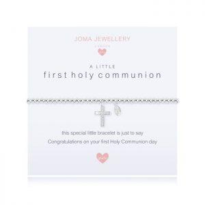A little  First Holy Communion Bracelet