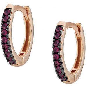 Easychic Hoop Earrings - Rose Gold