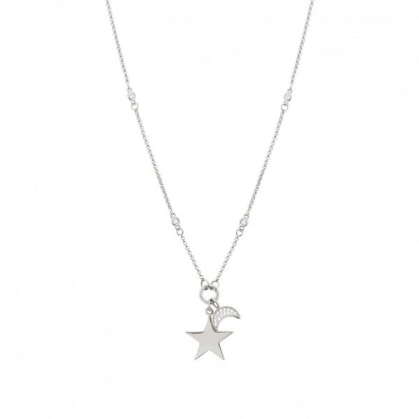 NIGHTDREAM NECKLACE WITH STAR AND MOON