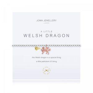 a little WELSH DRAGON - bracelet - Welsh