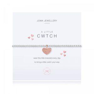 a little CWTCH - bracelet - Welsh