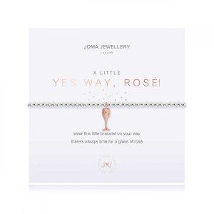 A LITTLE | YES WAY ROSE! | Silver | Bracelet | 17.5cm stretch
