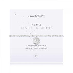 A LITTLE | MAKE A WISH | Silver | Bracelet | 17.5cm stretch