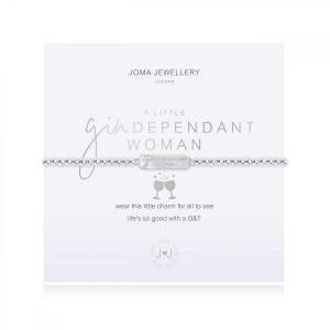 A LITTLE | GINDEPENDANT WOMAN | Silver | Bracelet | 17.5cm stretch