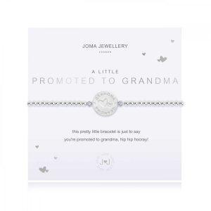 A LITTLE | PROMOTED TO GRANDMA | Silver | Bracelet | 17.5cm stretch