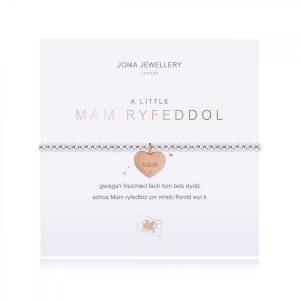A LITTLE | WONDERFUL MAM (WELSH) | Silver | Bracelet | 17.5cm stretch