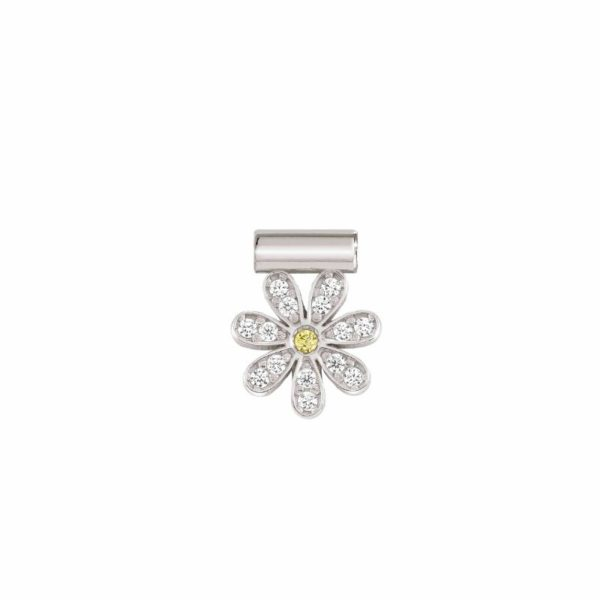 SeiMia SYMBOLS in 925 silver and cubic zirconia (002_Daisy)