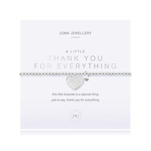 A little thank you for everything Bracelet